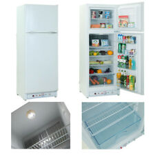 SMAD Refrigerator Freezer 6.4/7.5/9.4cu ft AC110V Propane Gas Fridge Home Office