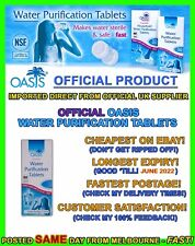 Water purification tablets treatment cheapest tabs hiking camping prepper
