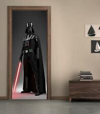 Star Wars Darth Vader DOOR WRAP Decal Wall Sticker Personalized ANY NAME D02
