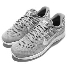 Wmns Nike Lunarglide 8 VIII Grey White Womens Running Shoes Sneakers 843726-002