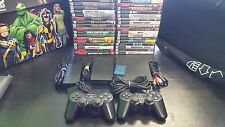 Sony Playstation 2 PS2 Slim console system, Memory card, games, Spyro, Sly, GTA