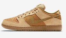 Nike ZOOM SB DUNK LOW QS MEN'S SHOES,WHEAT/DUNE/BROWN-Size US 10,10.5,11 Or 11.5
