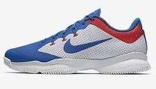 Nike COURT AIR ZOOM ULTRA MEN'S TENNIS SHOES,WHITE/RED/BLUE-Size US 7,8,8.5 Or 9