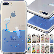 For Apple iPhone 7 Plus Fashion Soft Case Cute Rubber Back TPU Skin Cover Shell
