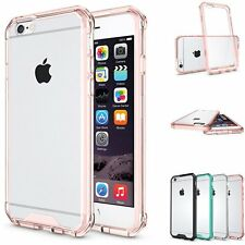 Shockproof Bumper Transparent Clear Hard Case Back Cover for iPhone 7 & 7 Plus 6