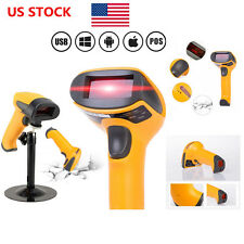 US Automatic USB Port Laser Barcode Bar Code Scanner Reader Decoder for POS