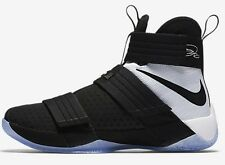 Nike ZOOM LEBRON SOLDIER-10 SFG MEN'S SHOES,BLACK/WHITE- Size US 10.5,11 Or 11.5