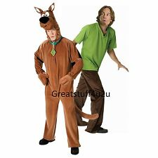 Scooby- Doo Deluxe or Shaggy  from Scooby Doo Adult Costume New