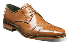 Stacy Adams Talbot Tan Cap Toe Oxford Mens Dress Shoe Shoes