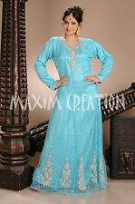 FANCY CAFTAN JILBAB JALABIYA WEDDING GOWN TAKSHITA PARTY DRESS ARABIAN   4299