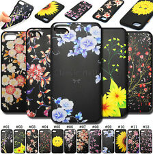 For Apple With Strap Rubber Various Embossed Soft TPU Gel Back  Cover Case Skin