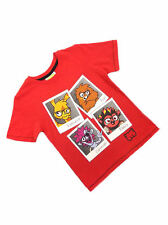 Nutmeg Moshi Monster Red Boys T-shirt Top Ages 5-6 6-7 7-8 8-9 9-10 BRAND NEW