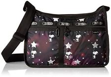 LeSportsac Classic Deluxe Everyday Bag Snoopy Charlie Brown Pattern -  ADORABLE