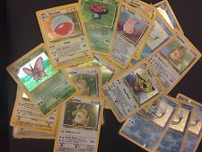 Pokemon cards Jungle set 16 RARE HOLOS (Vapereon Pidgeot Snorlax Flareon Jolteon