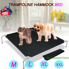 Pet Dog Cat Heavy Duty Trampoline Hammock Frame Bed/Replacement Cover M/L/XL/XXL