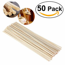 50pcs Oil Diffuser Fragrance Replacement Rattan Reed Refill Sticks for Hotel Spa