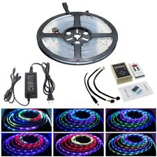 5m 16.4ft RGB 133 Dream Color 5050 6803 IC Waterproof LED Strip+Remote/Power