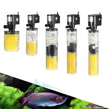 Powerful Submersible Water Internal Filter Pump For Aquarium Fish Tank Pond