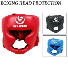 NEW Head Guard Kick Boxing Training Protector Boxing MMA Protection Gear Helmet