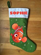 Finding Nemo Christmas Stocking - Personalized and Hand Made