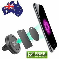 Car Magnetic Air Vent Sticky Mount Holder Stand For Mobile Cell Phone iPhone SU