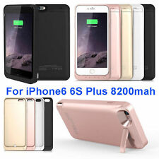 8200mAh External power bank Charger pack backup battery case for iphone6 6S plus