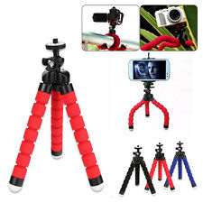 Mini Tripod Flexible Octopus Holder Stand Mount for iPhone 10 X / Samsung Phone