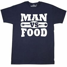 Inktastic Man Vs Food T-Shirt 4th Of July Bbq Dad Fathers Day Humor Funny Mens