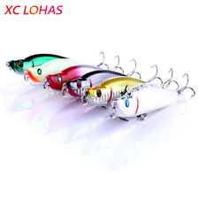1Pcs 9.5cm 16g Sinking Pencil Lure Hard Plastic Dog Fishing Fishing Lure 3D Eyes