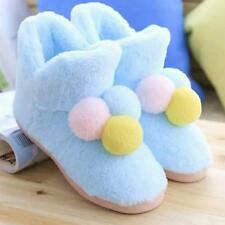Home Plush Slippers Warm Boots Women Shoes Soft Flat Winter Indoor Thermal Women