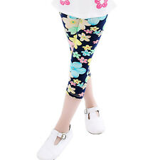 Hot Lovely Girls' Colorful Skinny Leggings Casual Kid's Stretchy Pants Trousers