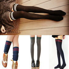 Compression Stockings Cylinder College Wind Over  Knee Socks High Stockings Top