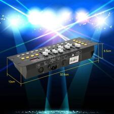 Mini 192 Channels DMX512 Controller Console Stage Lighting Party Bar School Z2Z0