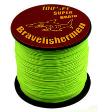 Top Spectra Green 100-1000M 6-300LB Super Strong PE Dyneema Braided Fishing-Line