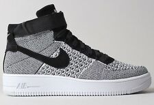 Nike AIR FORCE-1 ULTRA FLYKNIT MEN'S SHOES, BLACK/WHITE- Size US 10, 10.5 Or 11