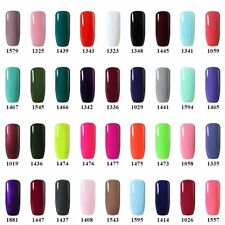 BELLE FILLE Soak Off  Nail Art Gel Polish Colorful Varnish UV Led Manicure DIY