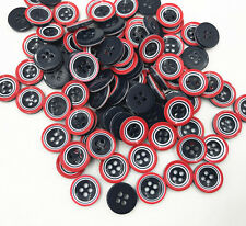 DIY 4-holes Round Resin Buttons decoration Handicrafts Sewing clothes 13mm