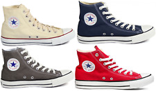 Converse Chuck Taylor Chucks All Star HI Lifestyle Sneaker beige gray blue red