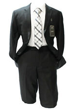 Angelo Rossi by Giorgio Cosani Black Modern Fit Suit Mens Suits