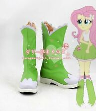 My Little Pony Friendship Is Magic Fluttershy cosplay shoes Boots Custom Made