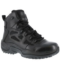 """Reebok RB8678 Rapid Response RB Soft Toe Stealth 6"""" Tactical Combat Police Boots"""