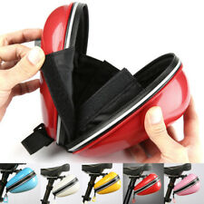 Outdoor Road Bike Bicycle Cycling Saddle Bag Tail Rear Pouch Seat Storage+Holder