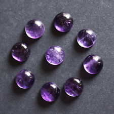 18MM Round Shape, Amethyst Calibrated Cabochons AG-232