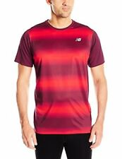 New Balance Mens Accelerate Short sleeve Graphic Top - Choose SZ/Color