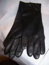 Fownes Black 100%  Cashmere lined Leather Gloves,