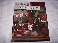 Art to Heart ~ Nancy Halvorsen ~ Your Choice - Santa sewing love jingle 12 days