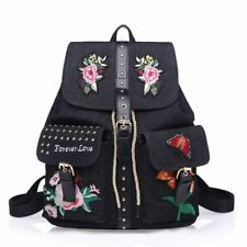 Amarte Canvas Women Backpack Flip Leisure School Bags