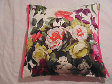 Designers Guild floral 100% Cotton Fabric Cushion Cover Rugosa Plaster / Pillow