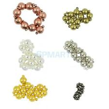 10 Sets Two Parts Brass Magnetic Round Ball Clasps Jewelry Making Finding Craft