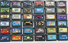 NICE SELECTION Nintendo GameBoy Game Boy Advance Video GAME Cartridges U Choose